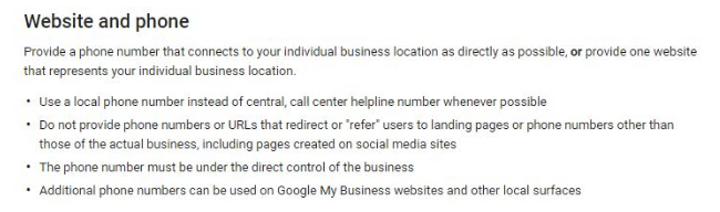 how to optimize google local listing example