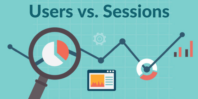 users vs sessions google analytics